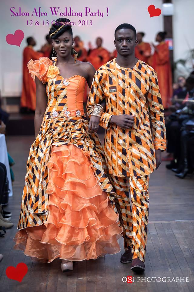 Modele wax mariage for Salon afro antillais paris