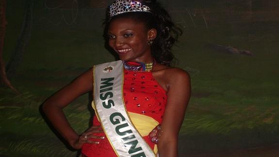 Halimatou Diallo élue Miss Guinée 2014 !