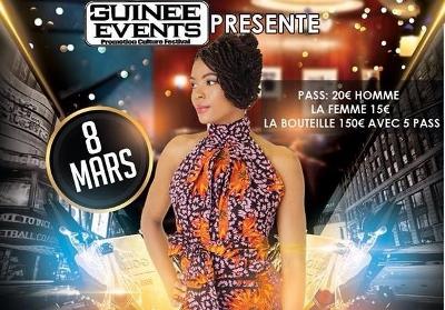 Show Guin 233 E Events F 234 Te La Guin 233 Enne 224 Paris Afro
