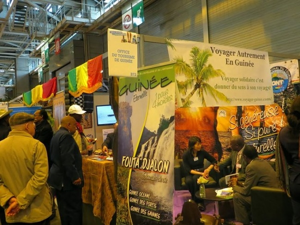 La guin e au salon mondial du tourisme paris afro - Salon tourisme paris ...