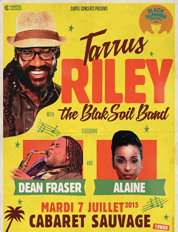 Tarrus Riley en concert le 7 Juillet à Paris !