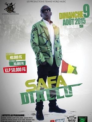 Safa Diallo dans les bacs , le 9 Août !
