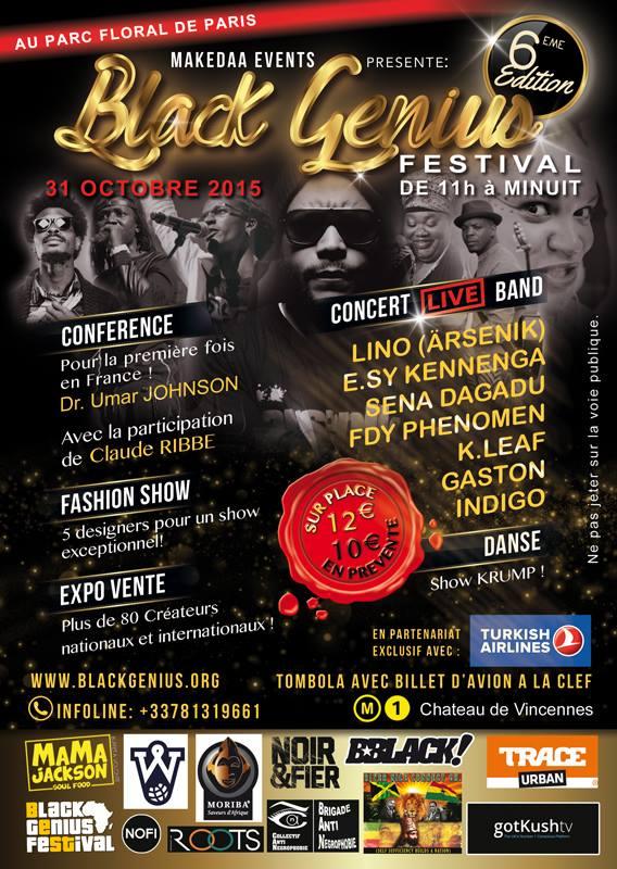 Black Genius Festival 31 oct. à Paris !