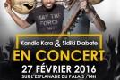Kandia Kora et Sidiki Diabaté en concert à Conakry