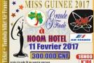 La finale de Miss Guinée 2017 se tient le 11 février !
