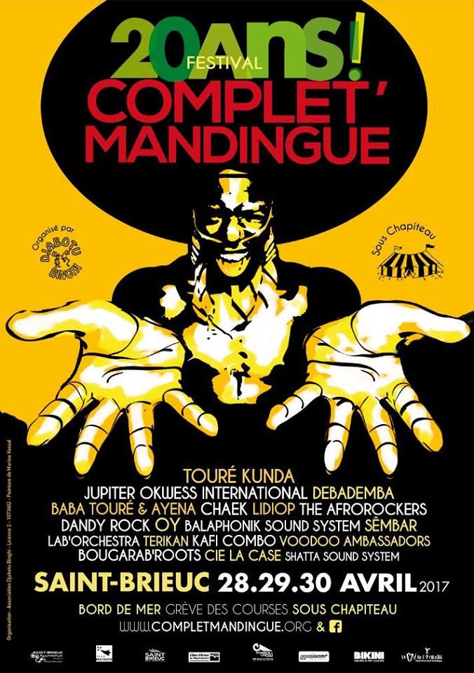 Le Festival Complet' Mandingue fête ses 20 ans !