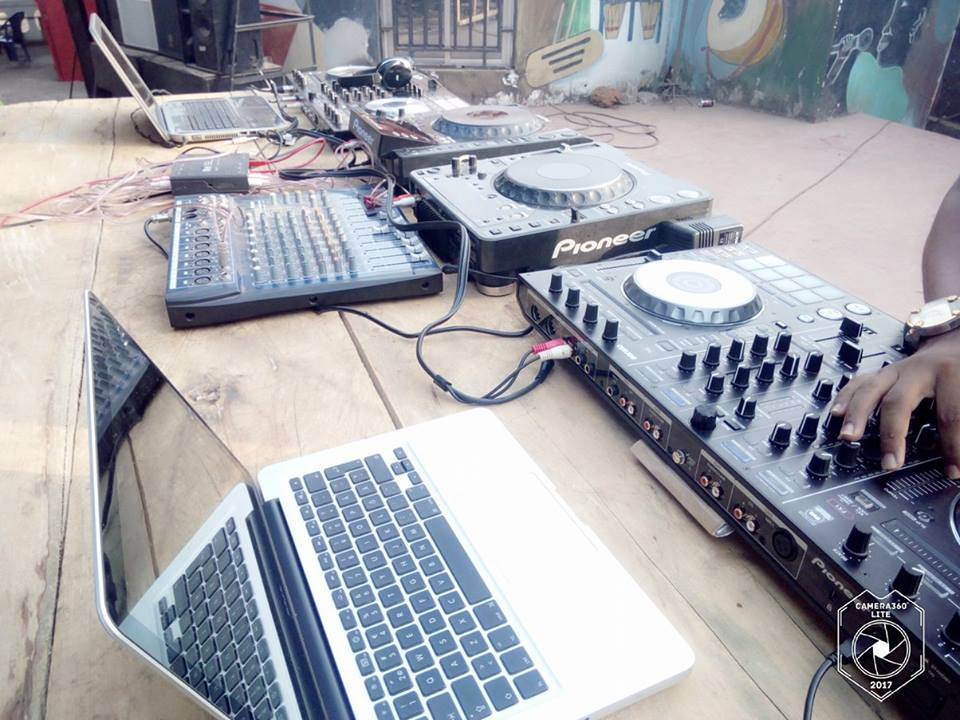 Photo: Retour sur le festival des Disc-Jockeys à Conakry!