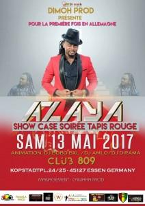 Azaya en Show case en Allemagne, le 13 Mai !