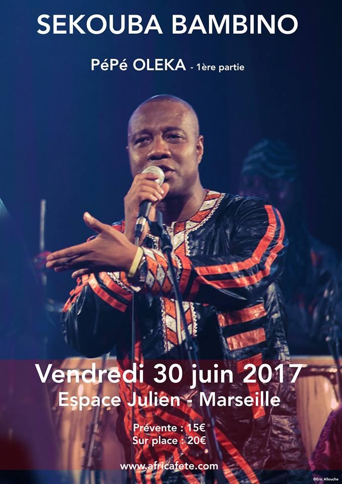 Sékouba Bambino en concert à Marseille !