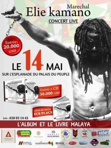 Elie Kamano en concert le 14 mai à Conakry !