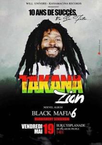 Takana Zion en concert le 19 Mai à Conakry !