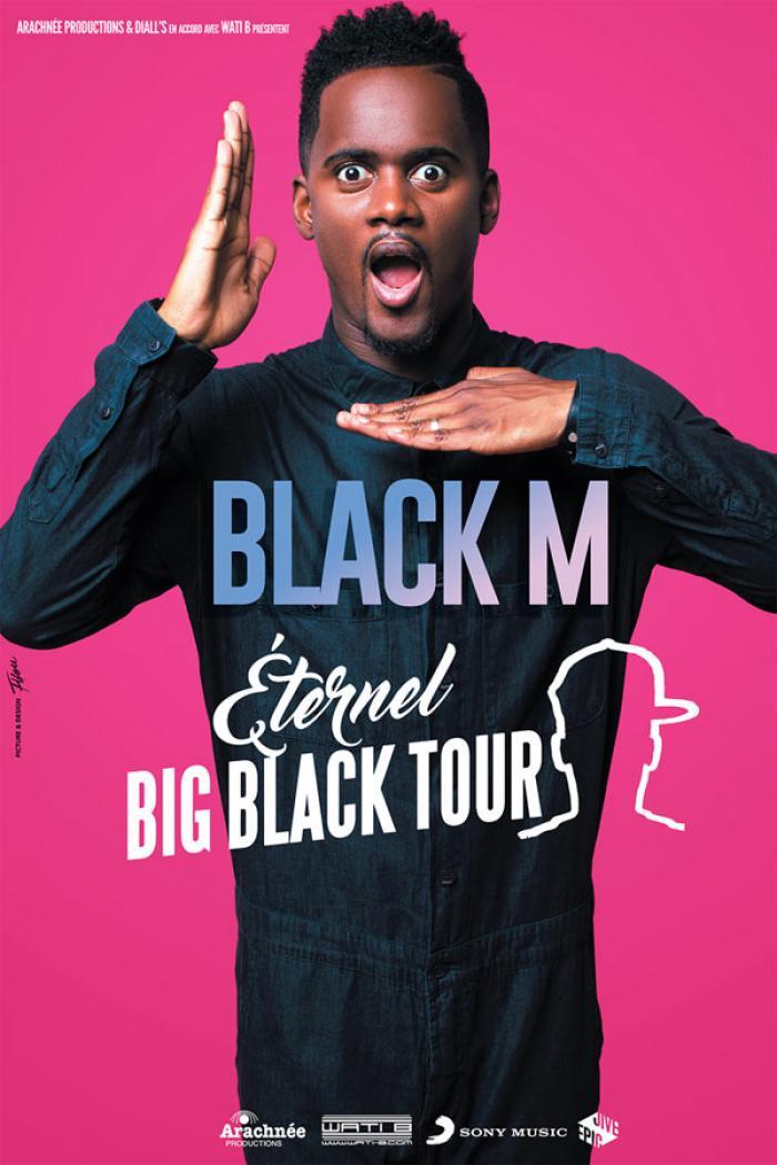 BLACK M au ZÉNITH D'ORLÉANS le 18 Mai !