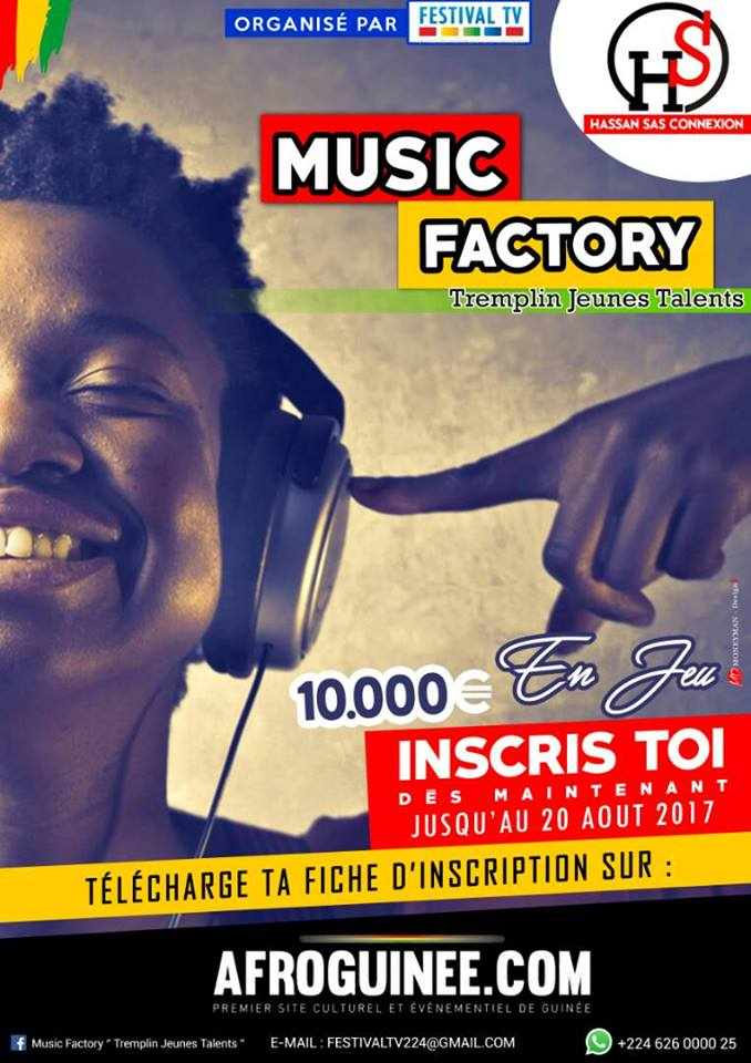 MUSIC FACTORY_Affiche 2017