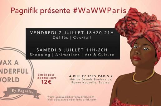 L'évenement Wax a Wonderful World 2017 à Paris !