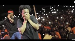 Wizkid fait plaisir à une fan à Conakry !