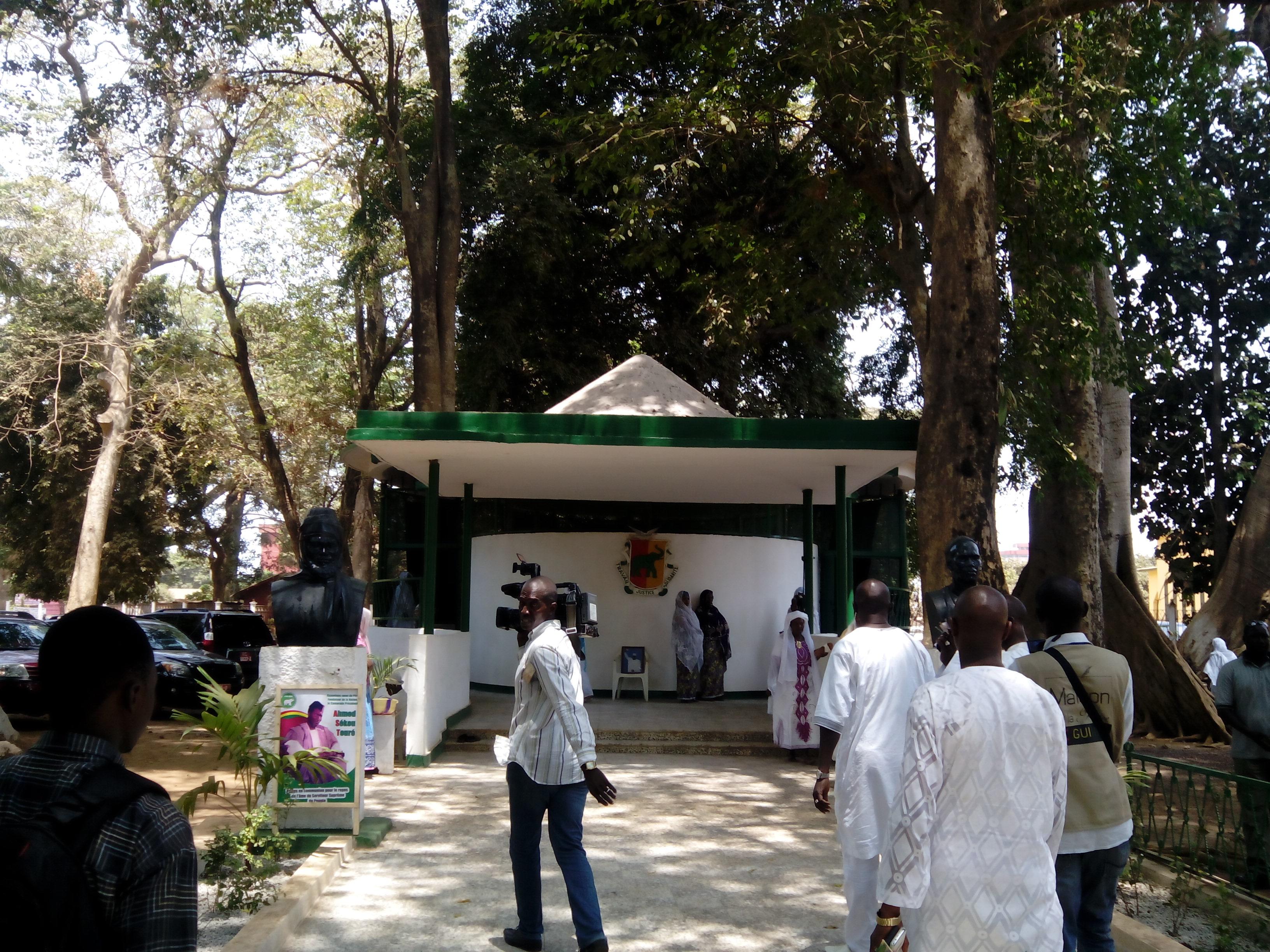 Rénovation du Mausolée de Conakry: 150 millions GNF injectés