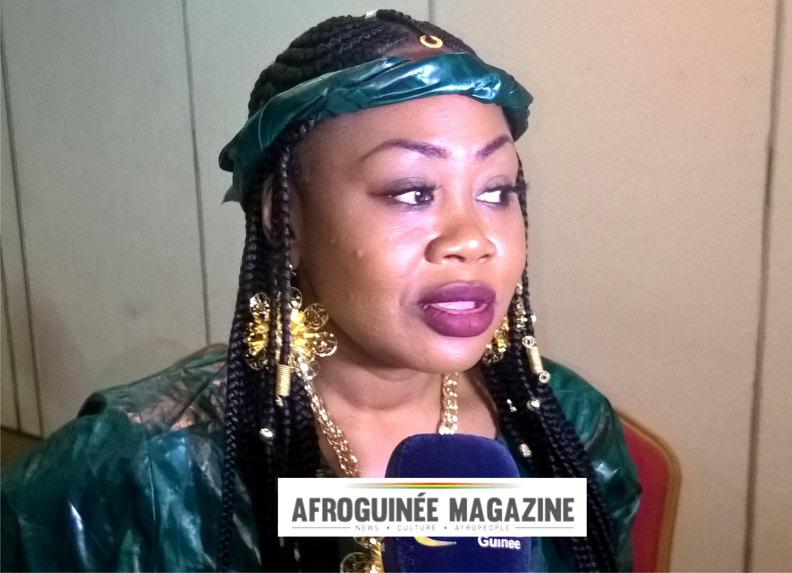 FESTAM: Fanny à Conakry pour les derniers réglages
