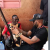 Fally Ipupa chez Sidiki pour des cours de Kora