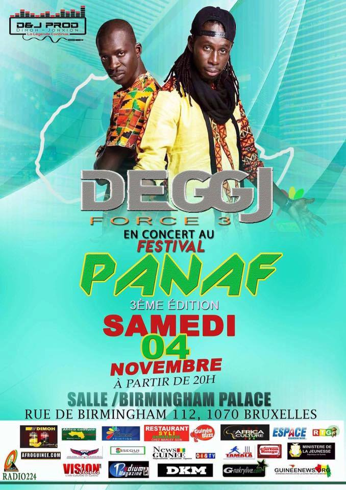 La 3è édition du festival PANAF s'annonce à Bruxelles !