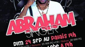 Abraham Singer en concert, le 24 Sept. au Palais !
