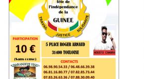 MOUSTO à Toulouse pour fêter la Guinée !