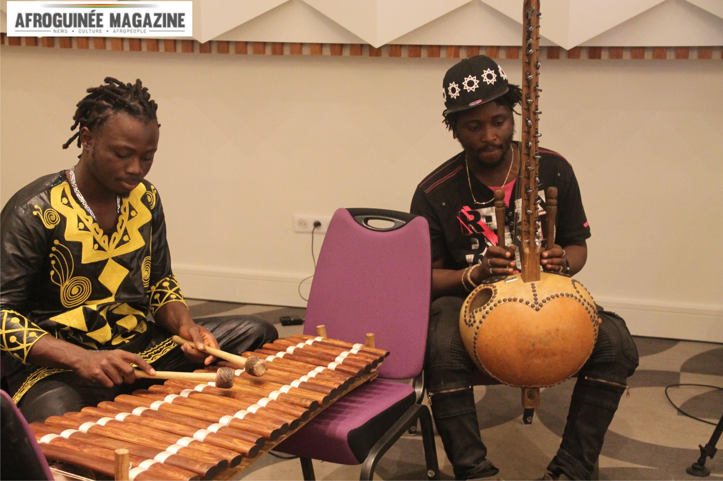[Vidéo]: découvrez l'hymne national de Guinée en version balafon