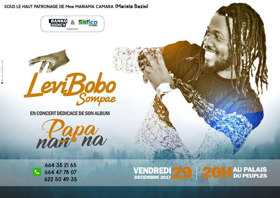 Un nouvel album de Levi Bobo en Décembre!