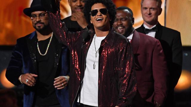 Grammy Awards 2018 : Bruno Mars roi d'une soirée très politique