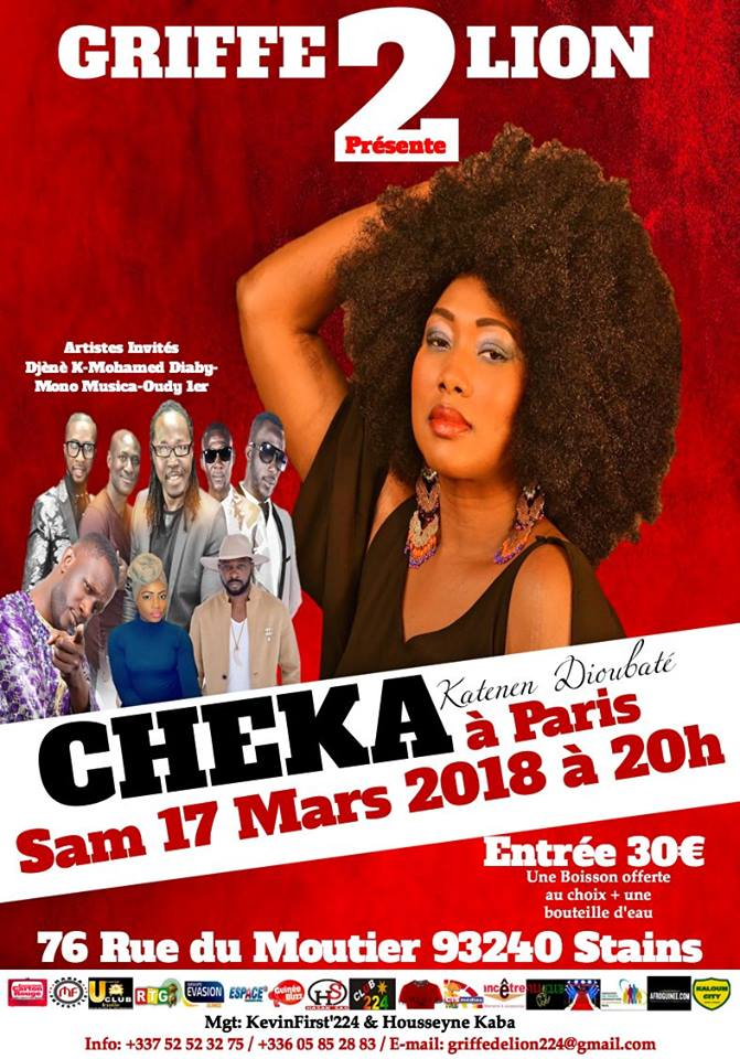 Concert : CHEKA arrive en force sur Paris !