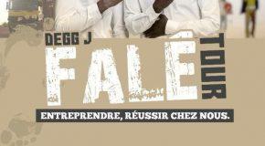 Guinée : Degg J Force 3 lance la tournée »Falé» !