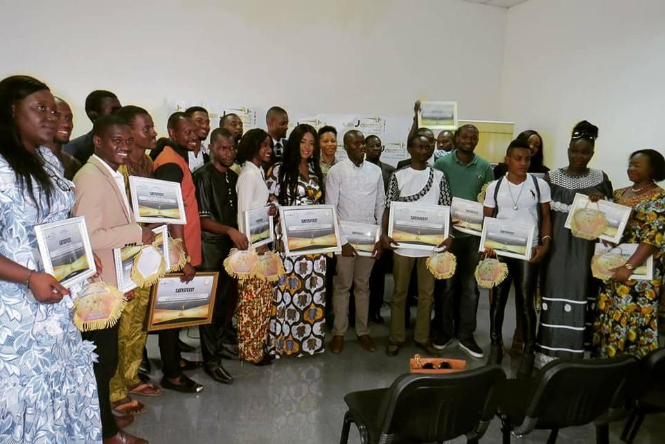 J Awards: ils étaient 50 jeunes à faire bouger la Guinée en 2017