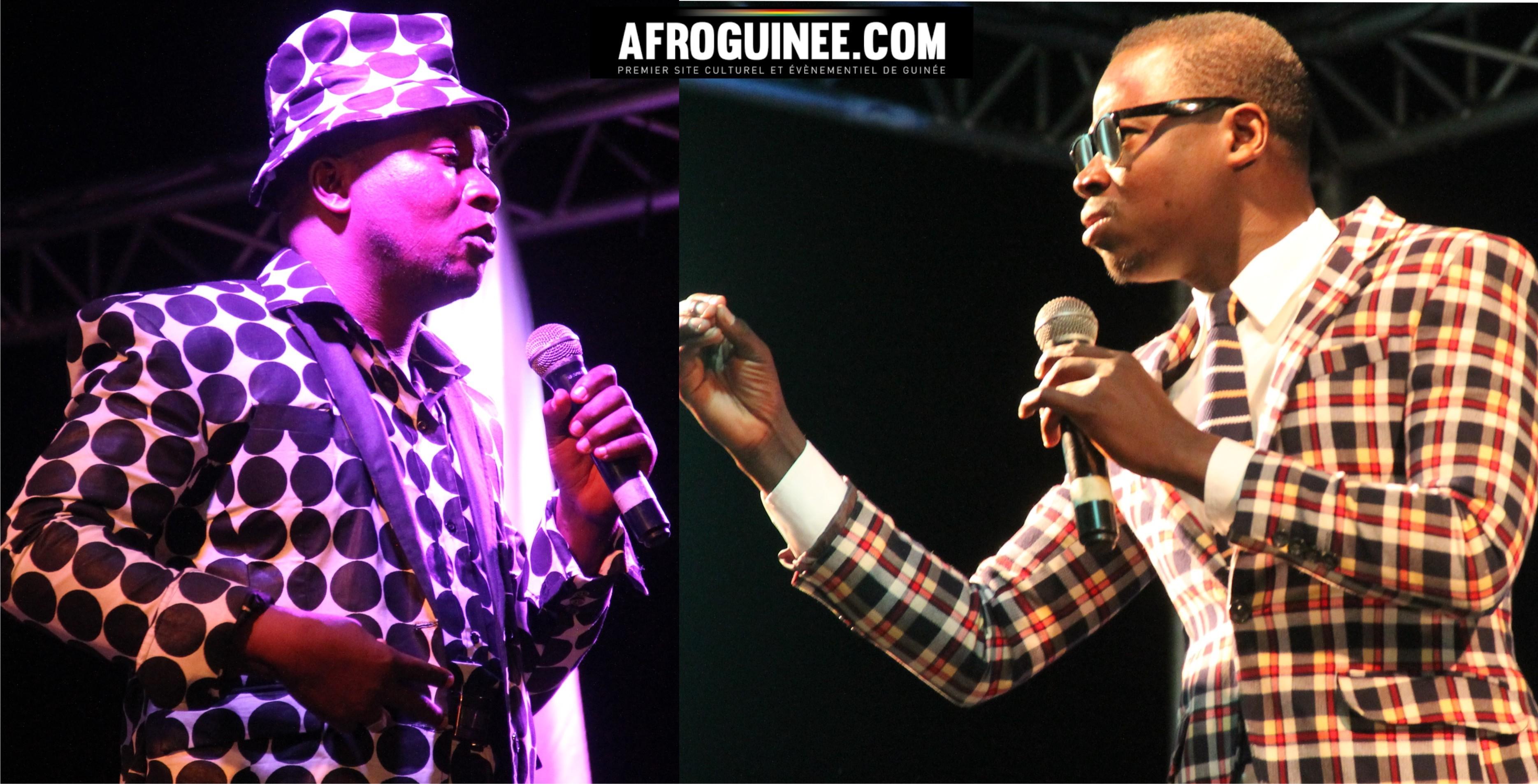 [VIDÉO] Le match du rire à Conakry: Un régal!