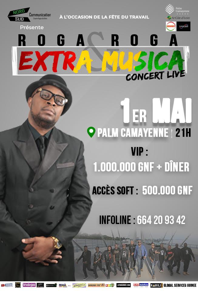 Extra Musica à Conakry le 1er Mai