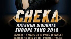 Cheeka Katenen en tournée européenne