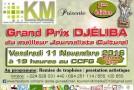 La 3ème édition du Prix Djéliba, le 11 novembre