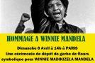 Un hommage à Winnie Mandela à Paris !